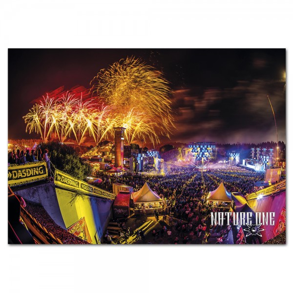 NATURE ONE | Poster | Fireworks | A1