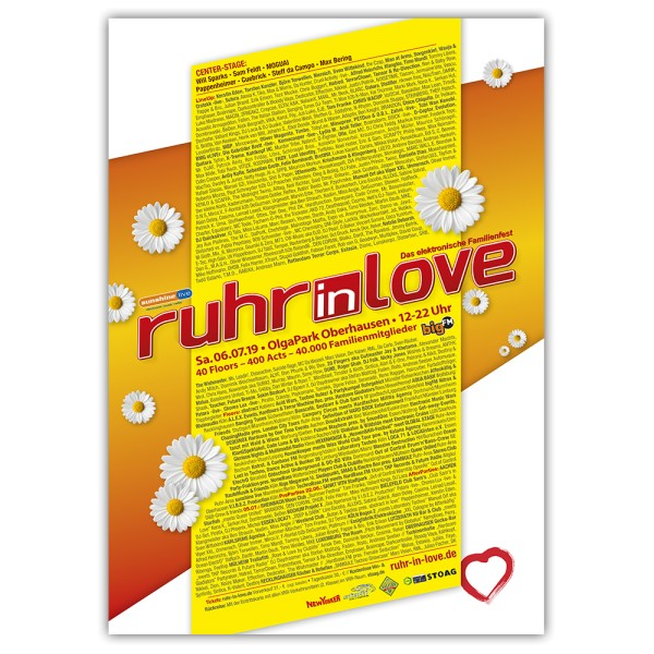 Ruhr-in-Love 2019 | Poster