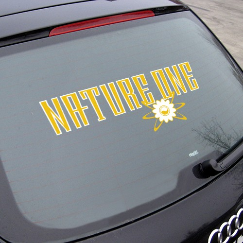 NATURE ONE | Sticker with Flower