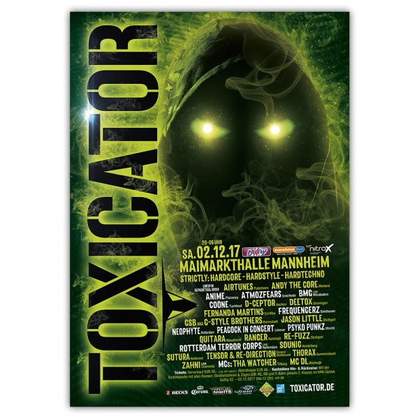 TOXICATOR | Poster | A1