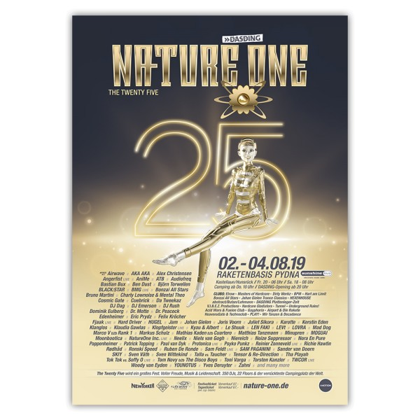 NATURE ONE 2019 | Poster