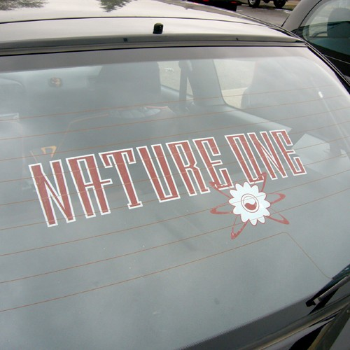 NATURE ONE | Sticker | with Flower