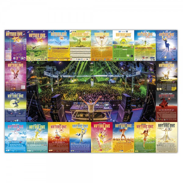 NATURE ONE   Poster  History   DJ   A0