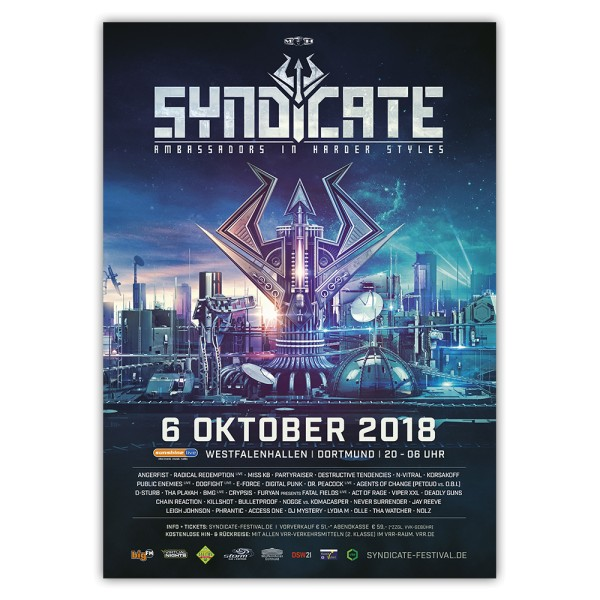 SYNDICATE 2018 | Poster