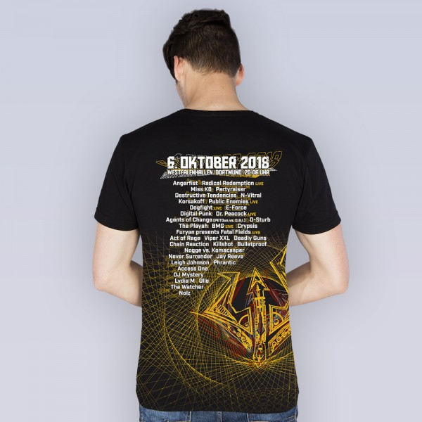 SYNDICATE 2018 | T-Shirt | LineUp