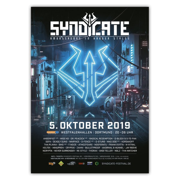 SYNDICATE 2019 | Poster