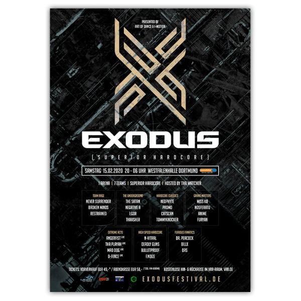 EXODUS 2019   Poster