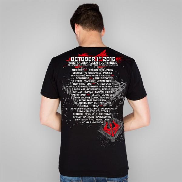 SYNDICATE 2016   T-Shirt   LineUp