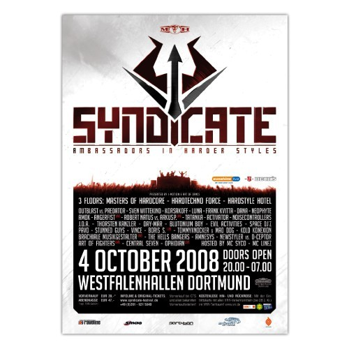 SYNDICATE 2008 | Poster