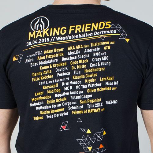 MAYDAY 2015 | T-Shirt | LineUp