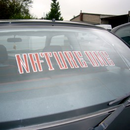 NATURE ONE | Autoaufkleber | ohne Blume