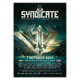 SYNDICATE 2017 | Poster | A0
