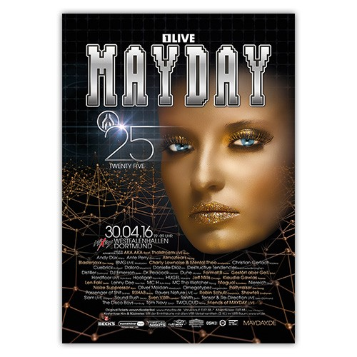 MAYDAY 2016   Poster   A0