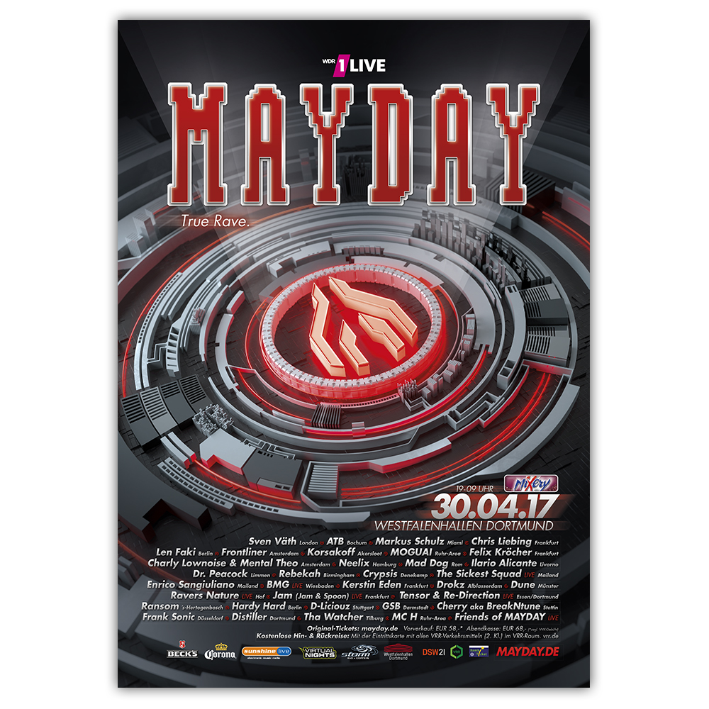 MAYDAY 2017   Poster   A1