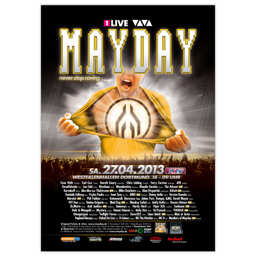 MAYDAY 2013 | Poster | A1