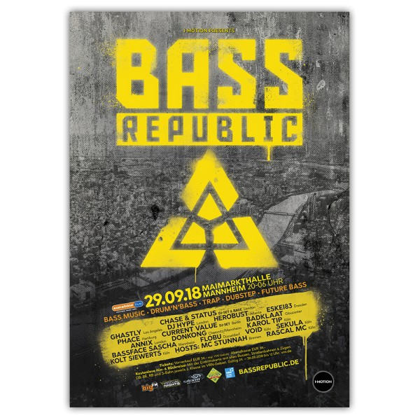 BassRepublic 2018 | Poster
