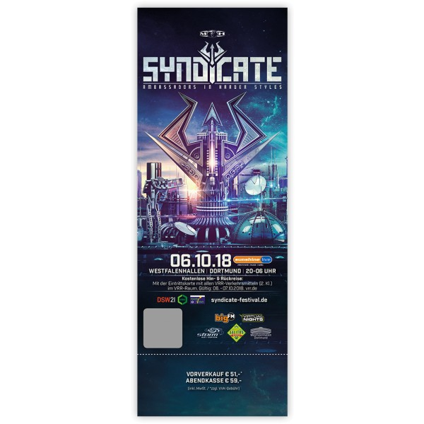 SYNDICATE 2018 | Ticket