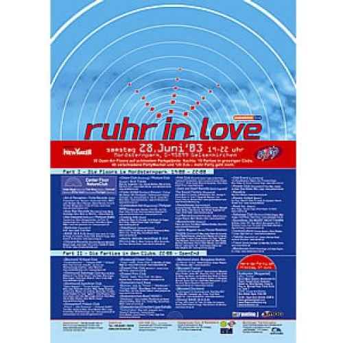 Ruhr-in-Love 2003 | Poster