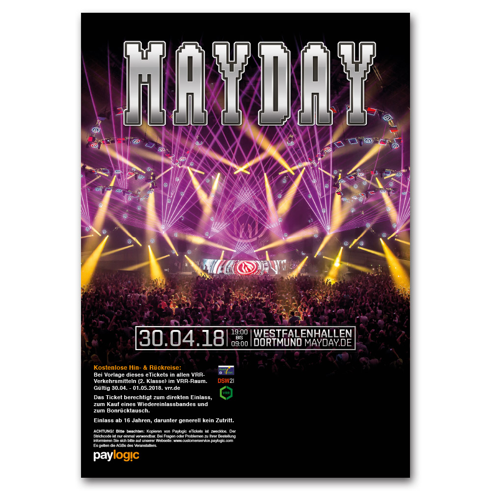 MAYDAY 2018 | Ticket