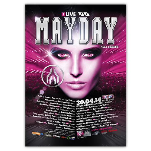MAYDAY 2014 | Poster | A0