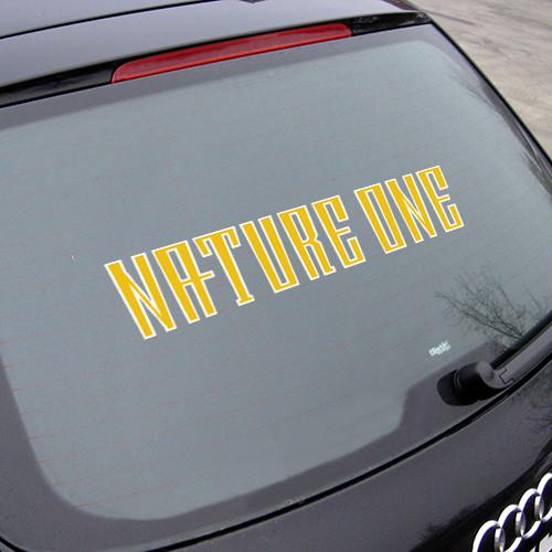 NATURE ONE | Autoaufkleber