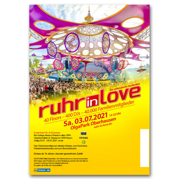 Ruhr-in-Love 2021 | Ticket
