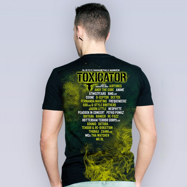 TOXICATOR 2017 | T-Shirt | LineUp