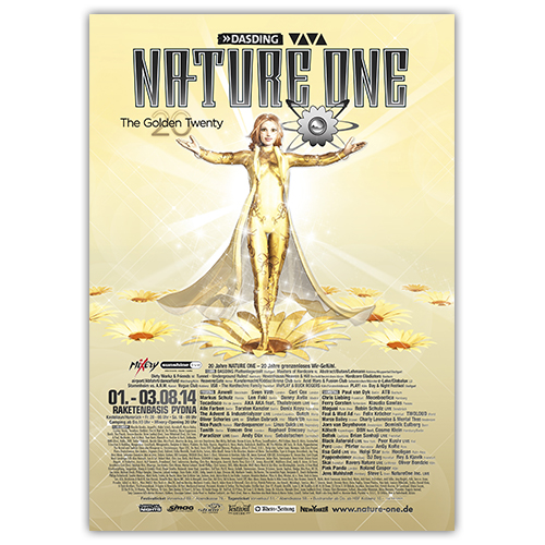 NATURE ONE 2014 | Poster | A1