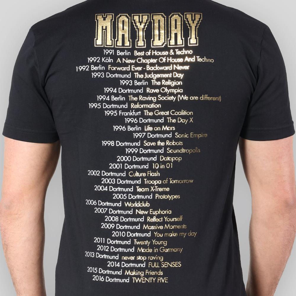 MAYDAY 2016   T-Shirt   History