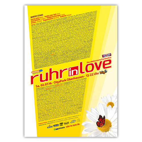 Ruhr-in-Love 2016 | Poster | A0
