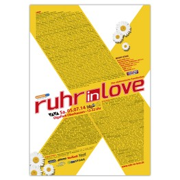 Ruhr-in-Love 2014 | Poster | A0