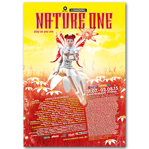 NATURE ONE 2015 | Poster | A0