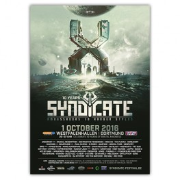SYNDICATE 2016 | Poster | A1