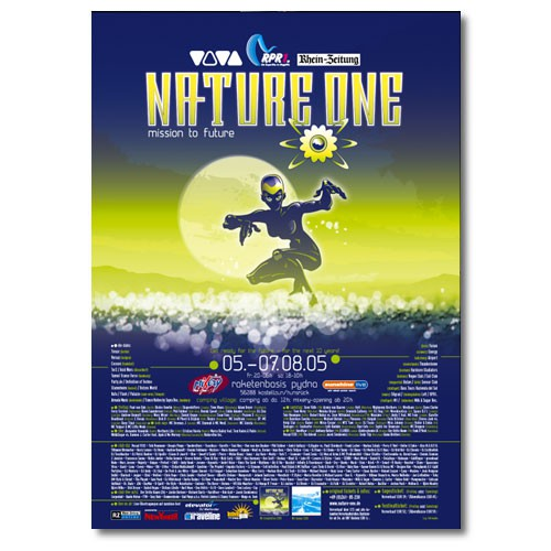 NATURE ONE 2005 | Poster