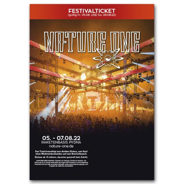 NATURE ONE 2022 | Festivalticket