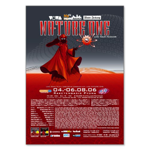 NATURE ONE 2006 | Poster