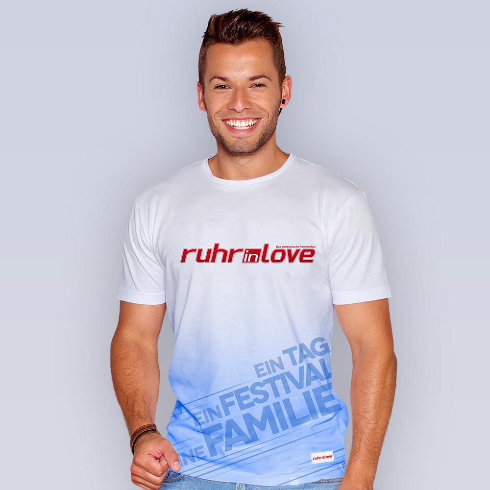 Ruhr-in-Love   T-Shirt   Basic