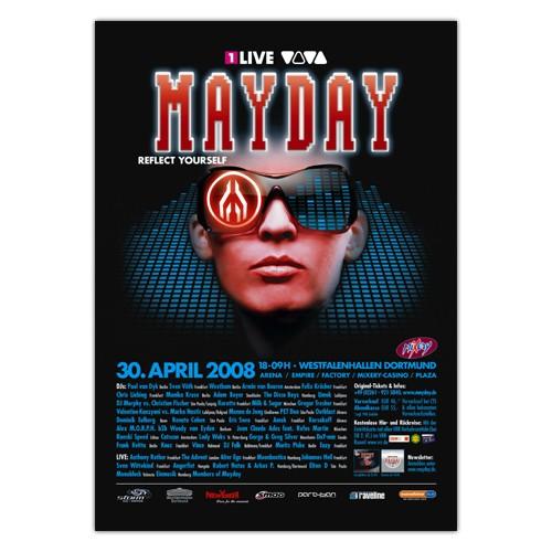 MAYDAY 2008 | Poster