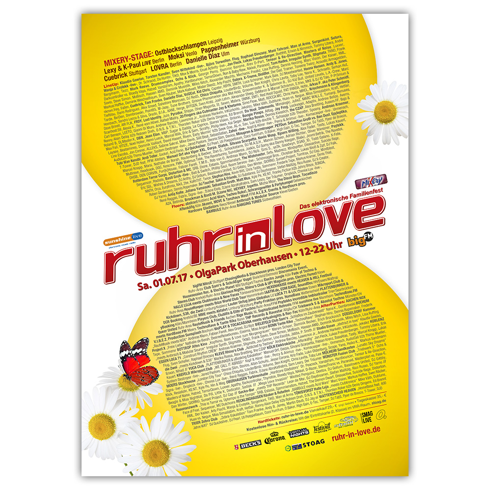 Ruhr-in-Love 2017 | Poster | A1