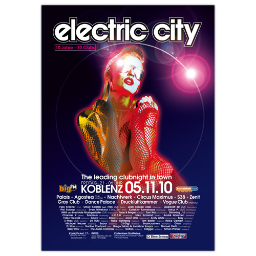 electric city 2010 | Poster
