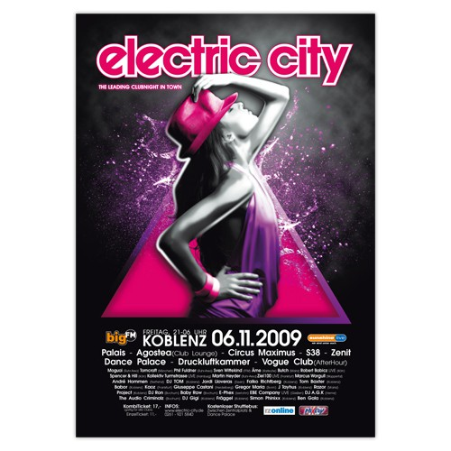 electric city 2009 | Poster
