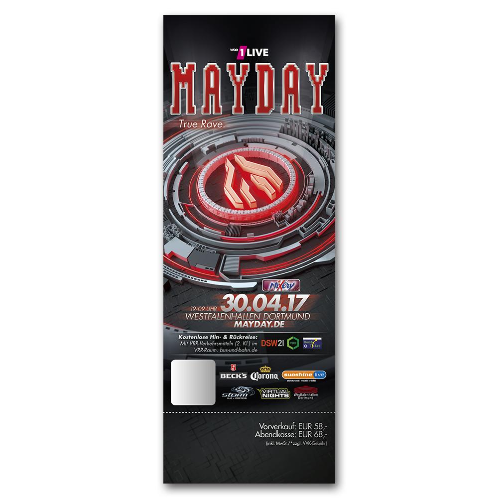 MAYDAY 2017 | Ticket