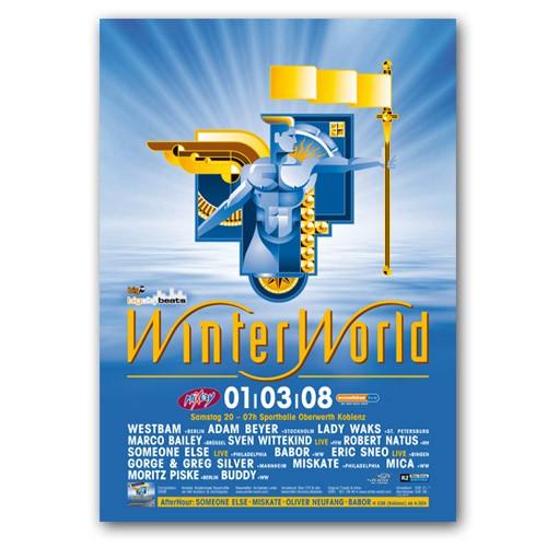 WinterWorld 2008 | Poster