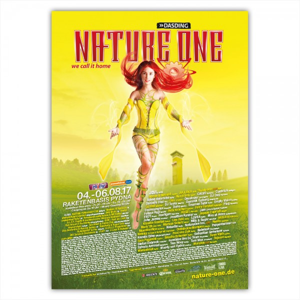 NATURE ONE 2017   Poster   A1
