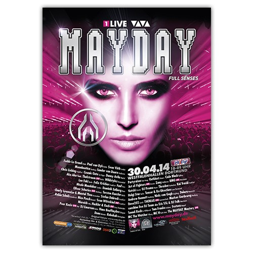 MAYDAY 2014 | Poster | A1