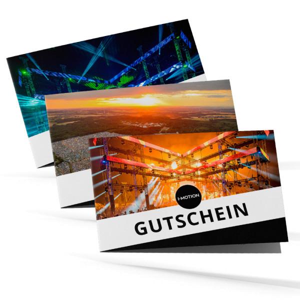 Digitaler Geschenkgutschein | Karte (PDF)
