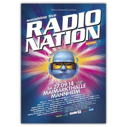 RadioNation 2014 | Poster | A0