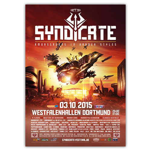 SYNDICATE 2015 | Poster | A0