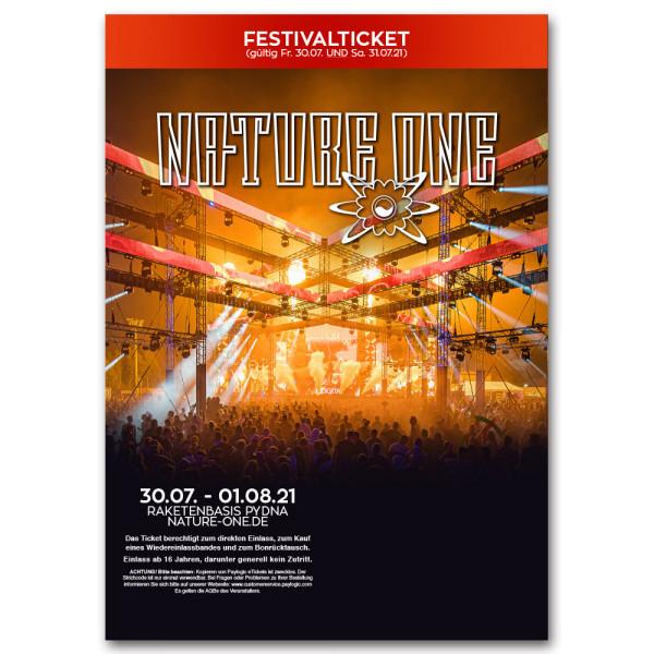 NATURE ONE 2021 | Festivalticket
