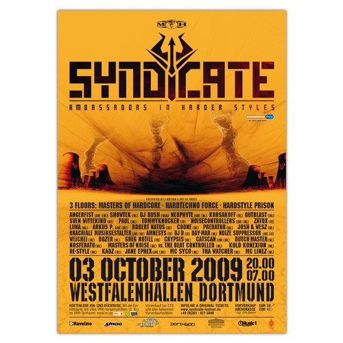 SYNDICATE 2009 | Poster